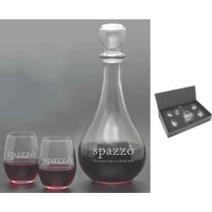 Five piece carafe set