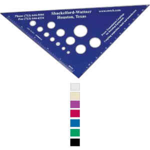 Promotional Rulers/Yardsticks, Measuring-5280