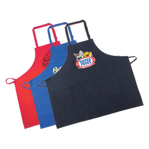 Kitchen bib apron with