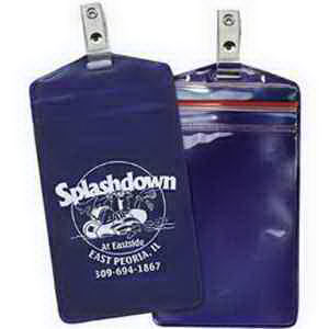 Promotional Vinyl ID Pouch/Holders-526RSCT