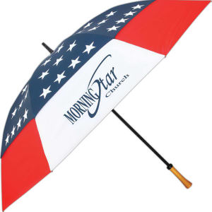 Promotional Golf Umbrellas-15010STAR