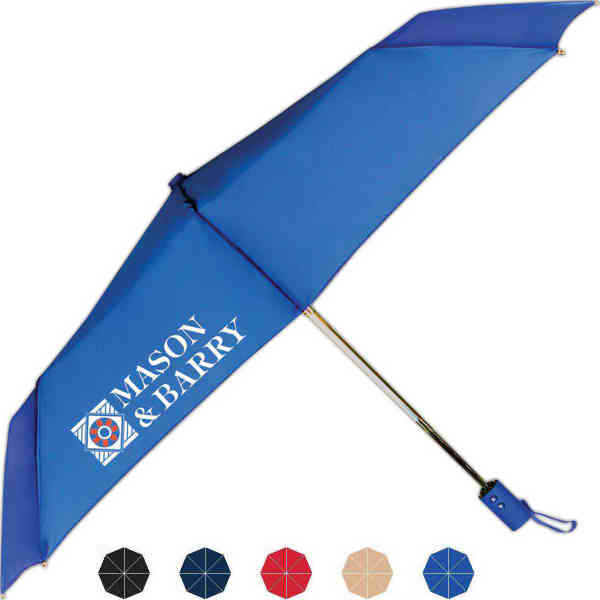 Traveler folding umbrella with