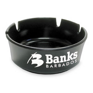Promotional Ashtrays-A1000Black