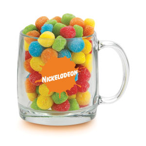 Promotional Glass Mugs-GA-22097 SNAX