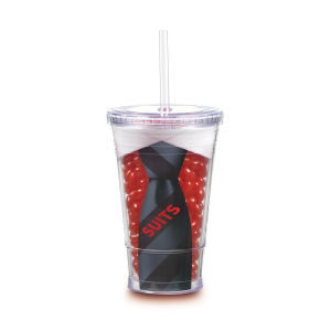 Promotional Drinking Glasses-TM-50 SNAX