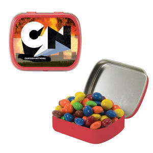 Small candy tin with