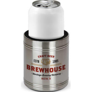 Insulated stainless steel can