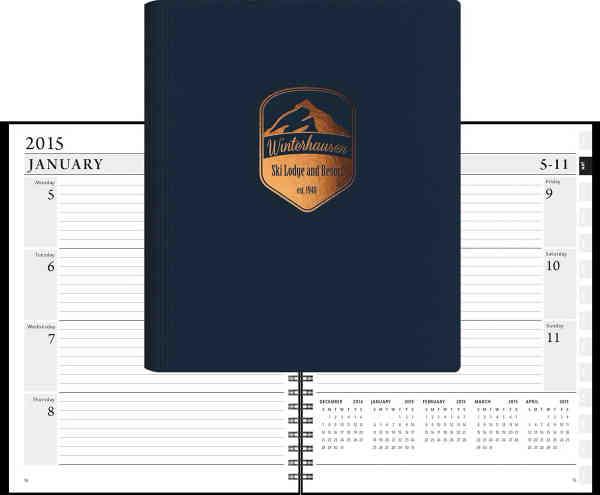 LeatherWrap Planner™ TimePlanner® XeoPlanner™