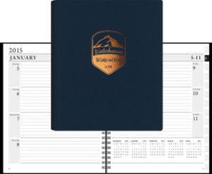 LeatherWrap Planner (TM) -
