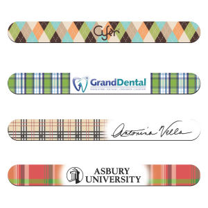 Promotional Emery Boards-5101-Plaid