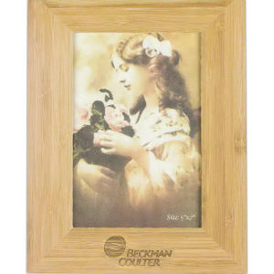 Bamboo picture frame for