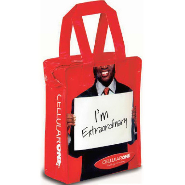 Reusable tote bag with