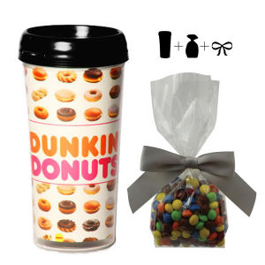 Promotional Plastic Cups-MUG-CHOCOLATE
