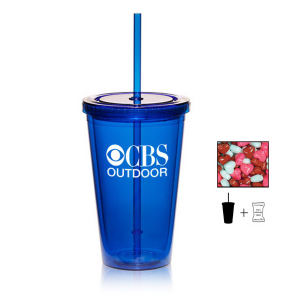 Promotional Plastic Cups-TUMBLER-HEARTS