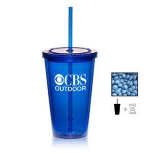 Promotional Plastic Cups-TUMLER-CHOC