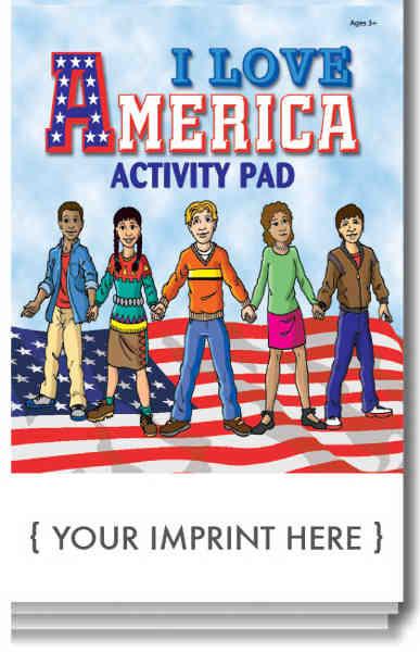 I Love America activity