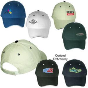 6 Panel structured cap
