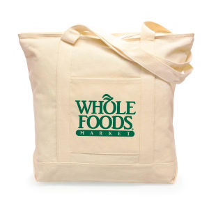 Eco-friendly cotton tote bag