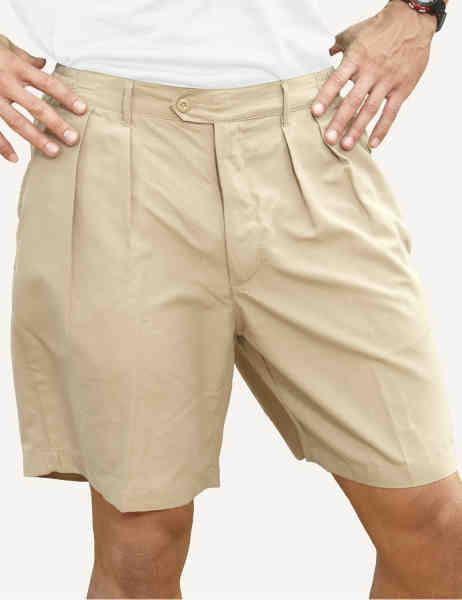 Men's polyester microfiber shorts