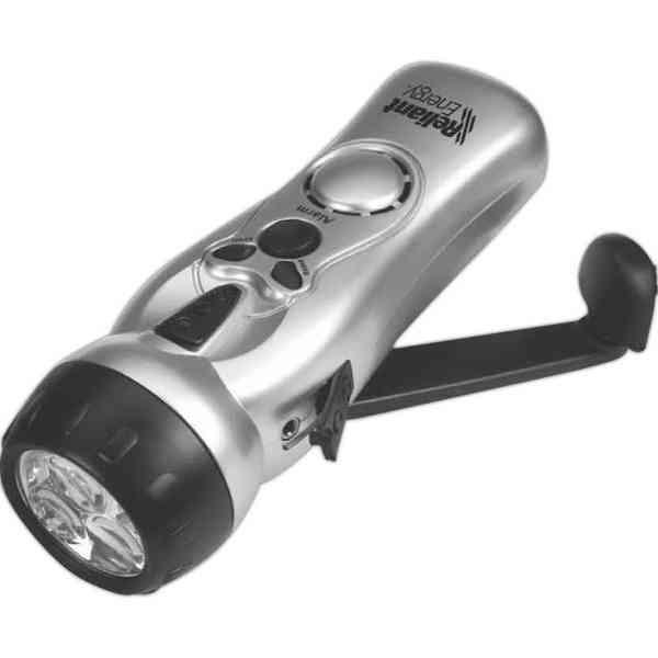 Radio with Flashlight &