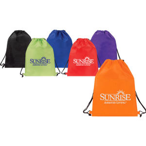 Promotional Drawstring Bags-BACKPACK E189