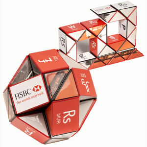 Rubik's (R) Cube Twist-A-Snake