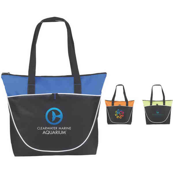 Poly canvas tote, 14