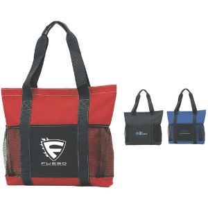 Tote with velcro closure,