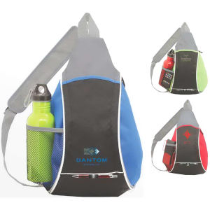 Sling pack made of