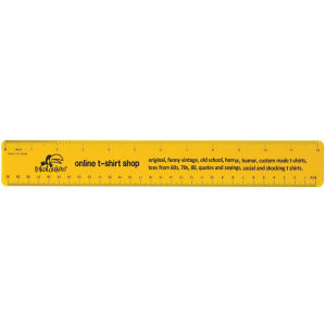 Promotional Rulers/Yardsticks, Measuring-0279