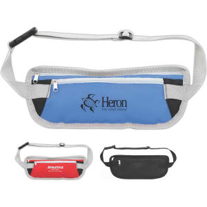 Waist bag with adjustable