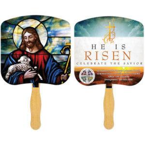 Religious Hand Fan -