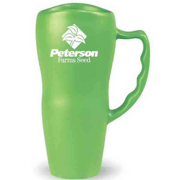 Ceramic, colored mug with