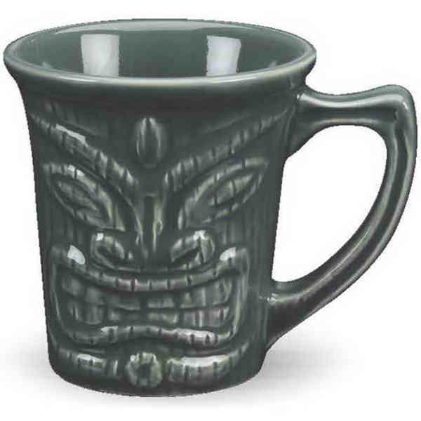 12 oz. ceramic tiki