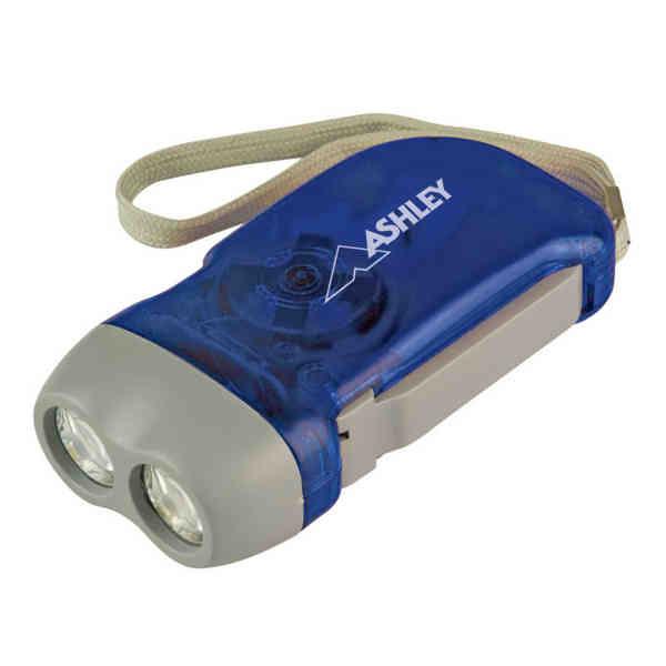 Hand-Powered Flashlight.