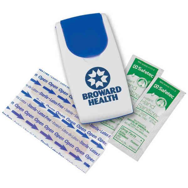 Sanitizer Flip-Top Safety Kit.