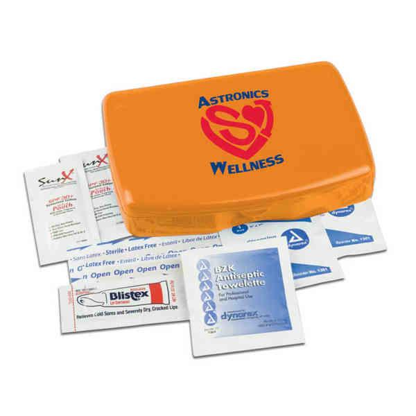Sun kit, contains sunscreen,