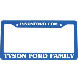 Promotional License Frames-0760