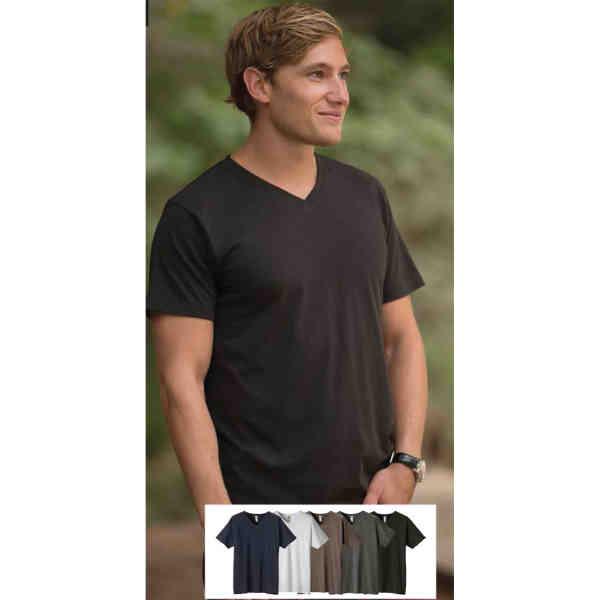 Men's v-neck t-shirt is