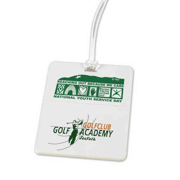 Golf tag. Molded with