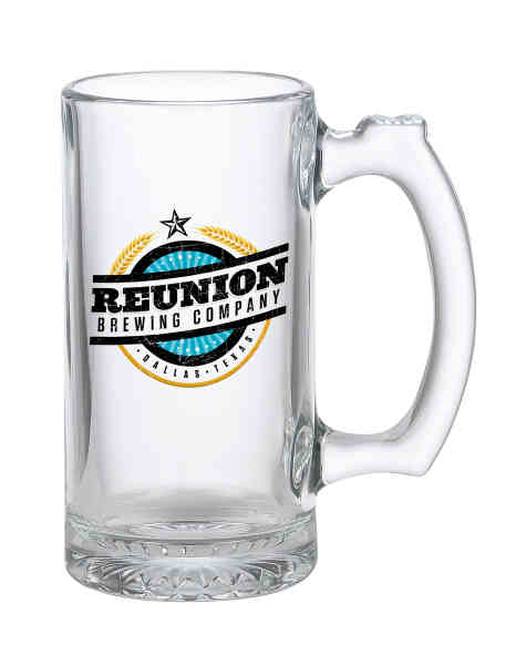 12 oz Glass Mug