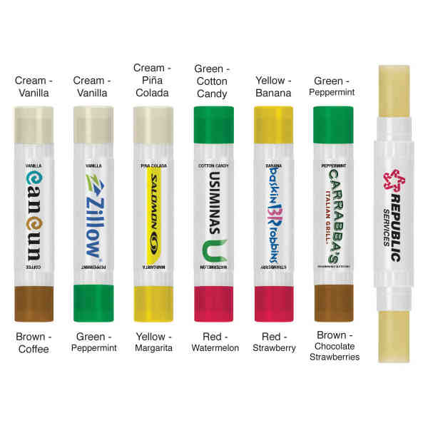 Double Sided Lip Balm.