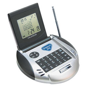 Promotional World Time Clocks-ELEC0535