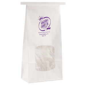 Promotional Food Bags-1CFBW409WHT