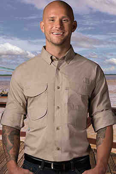 Lightweight fishing shirts made