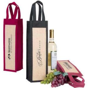 Napa wine gift tote