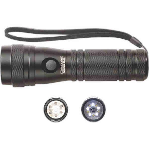 3 AAA black flashlight
