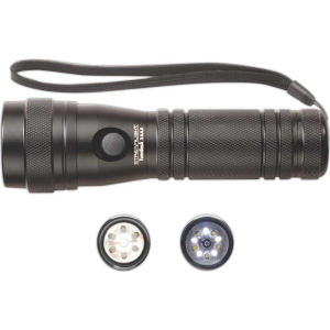 3 AAA black flashlight