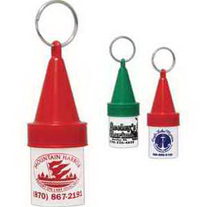White polypropylene buoy key