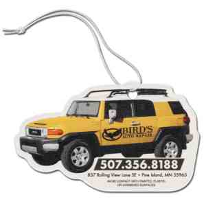 Paper air freshener with